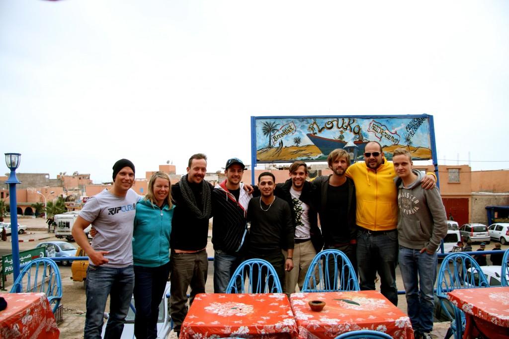 Christian Surfers Germany - Marokko Gruppenfoto